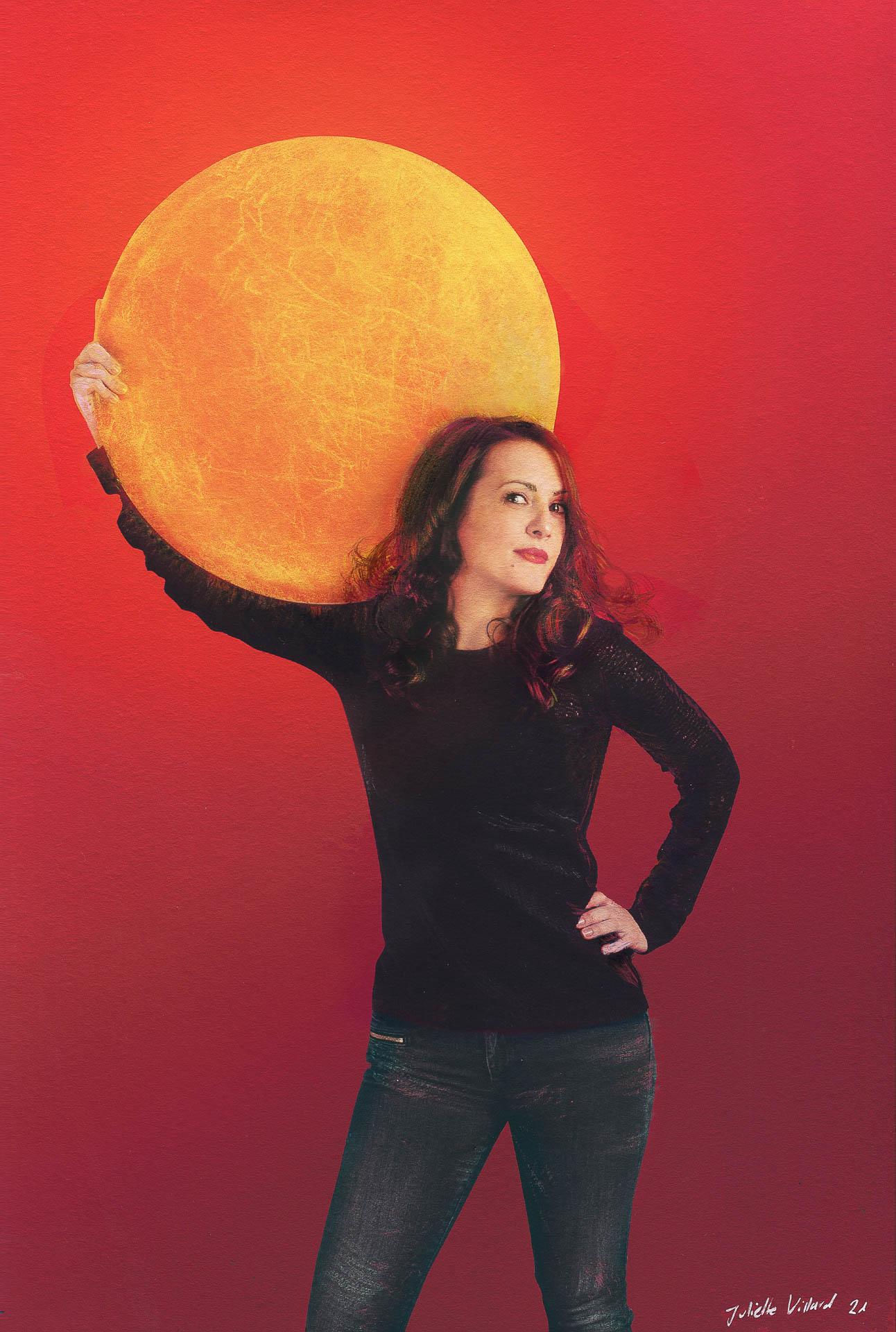 Portrait de Cédrine Tresca photographe auteur
